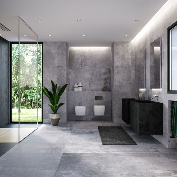 Bathroom, kitchen and SPA
