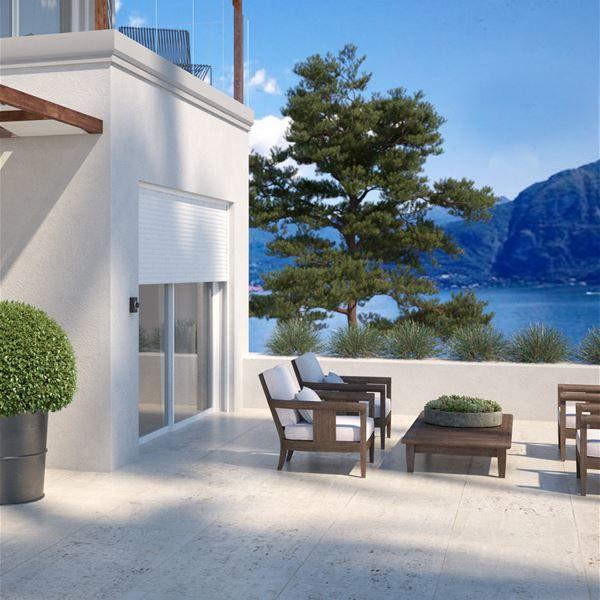 Terrace and balcony